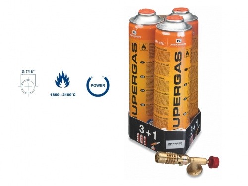 Multiaplikační hořák 1047+3 kartuše Supergas