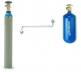 Plnící adaptér-přepouštěč z 10kg do 2kg  kyslíkové lahve