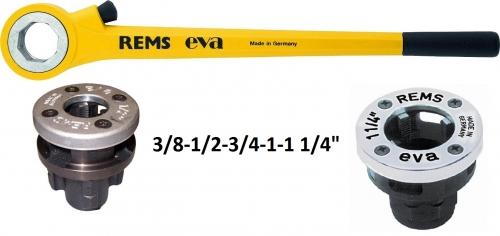 REMS Eva Set  R 3/8 - 1 1/4˝ v kartonu