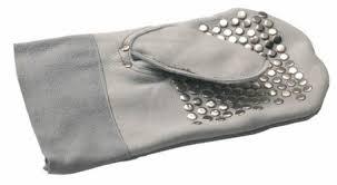 REMS Vodící rukavice, nýtovaná, levá