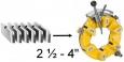 REMS Závitořezné čelisti R 2 1/2-4˝