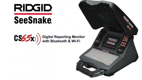 Ridgid CS65x digitální protokolovací monitor s Wi-Fi