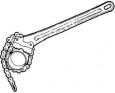Ridgid Hasák C-14 řetězový 2˝