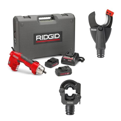 Ridgid RE60 + LR-60B + SC-60B (krimpovací a řezací hlava)