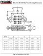 Ridgid Řetězový svěrák 8-150 mm