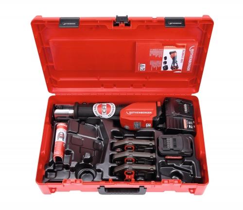 Rothenberger ROMAX 4000 Set SV 15-22-28 mm, 1x4 Ah