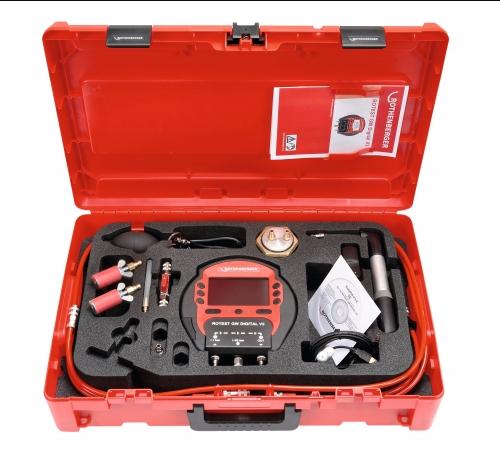 Rothenberger rotest GW Digital V3 - Set na měření těsnosti plynu