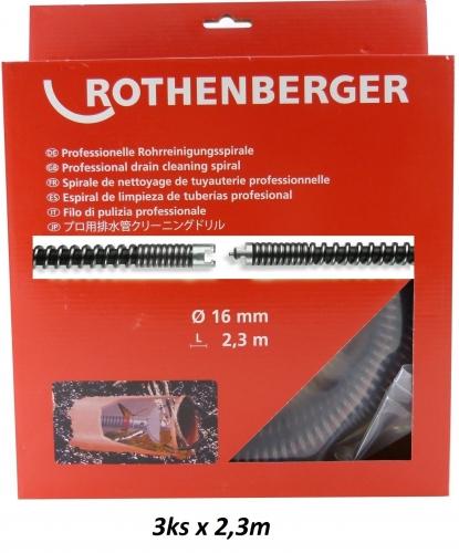 Rothenberger SMK Spirála (s výplní) 16mm x 2,3m, 3ks