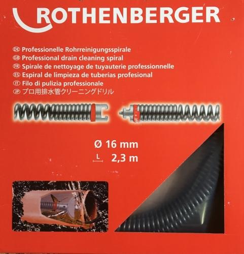 Rothenberger Spirála 16mm x 2,3m