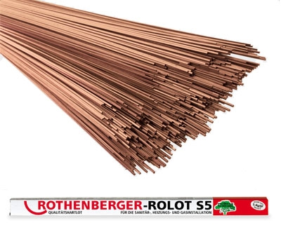 Rothenberger Tvrdá pájka ROLOT S5