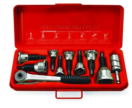 Rothenberger  Vyhrdlovací set 12,15,22,28mm