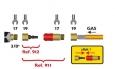 Rychlospojka pro plynové hořáky se závitem G3/8˝