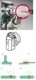 Svařovací  botka V-svar 12mm a X-svar 25mm